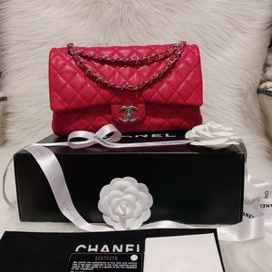 authentic chanel flat bag
